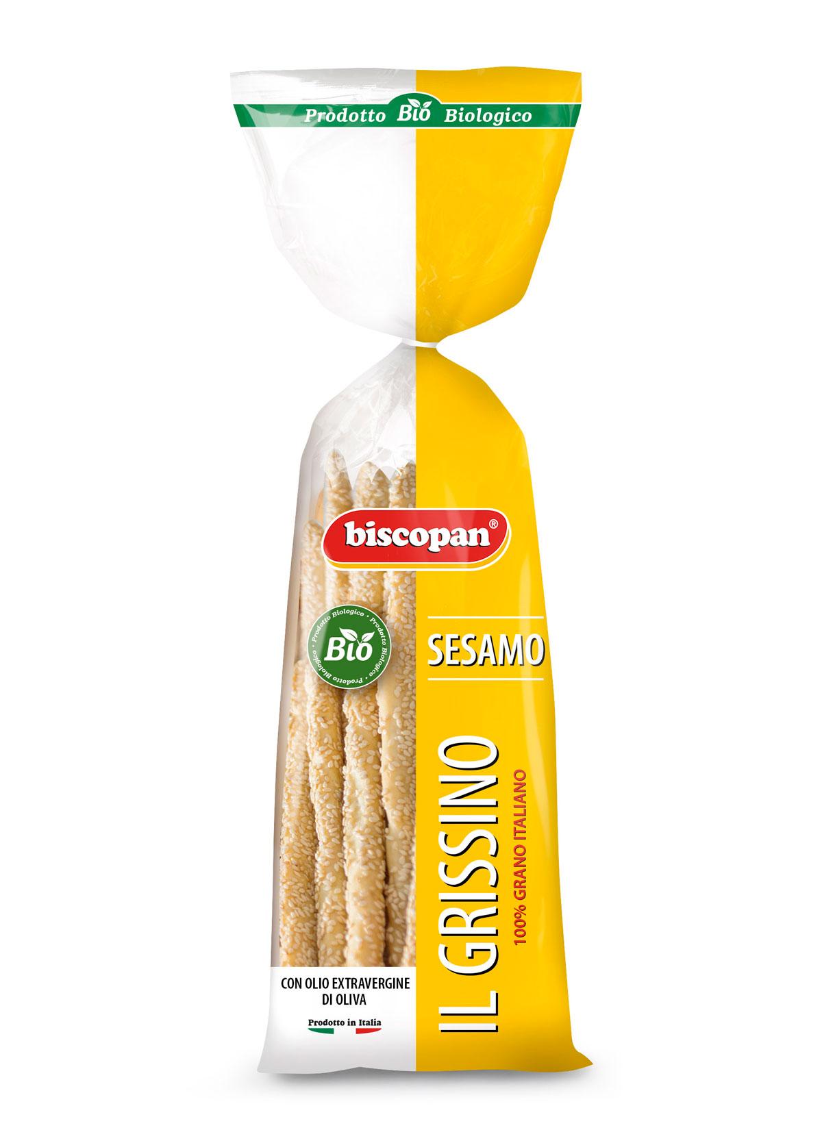 Palitos de pan de sésamo